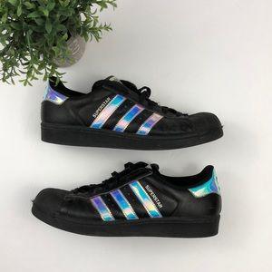 Adidas Iridescent Hologram Superstar Sneakers